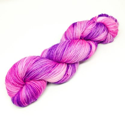 Sparkly unicorn yarn, merino and nylon sock yarn, hand dyed 4 ply yarn, magic unicorn